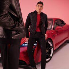 De campagnefilm is opgenomen samen met de Porsche Taycan
