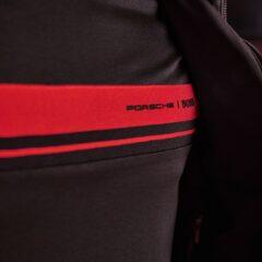 De Porsche x BOSS collectie bevat veel items, zoals deze trui