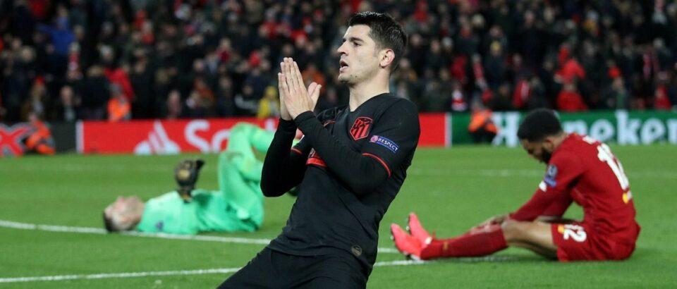 Atlético Madrid naar de kwartfinale van de Champions League na winst op Liverpool