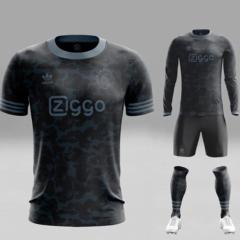 Ajax concept voetbalshirts