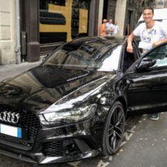 Audi S8 van Zlatan