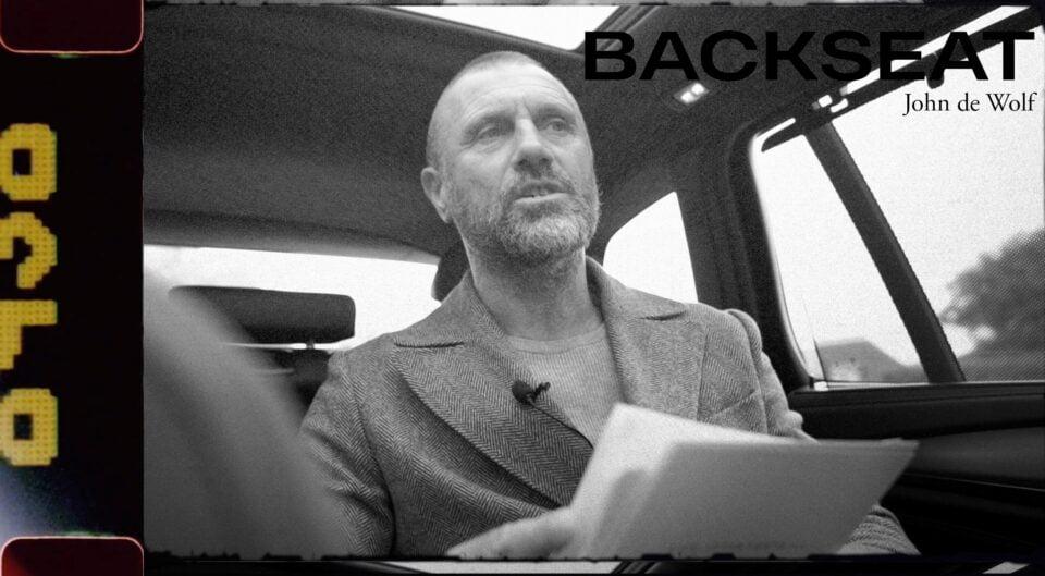 Backseat Convo met John de Wolf