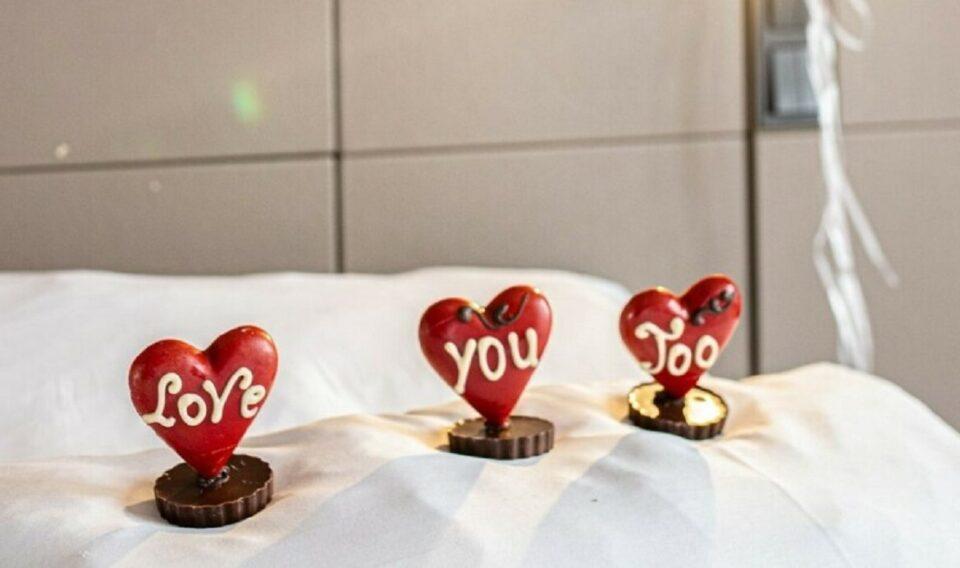 Het Valentine's Breakfast in Bed van Grand Hotel Krasnapolski