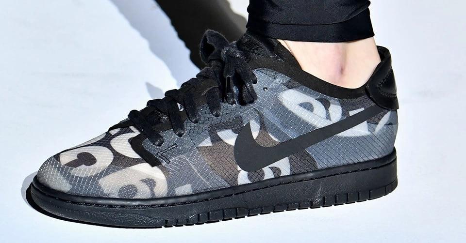 Comme des Garçons x Nike Dunk release