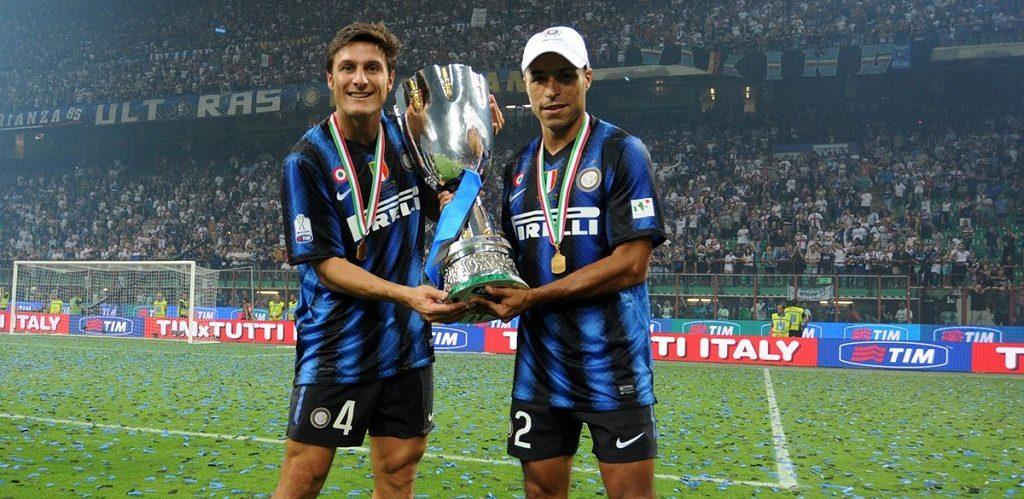Iván Córdoba & Javier Zanetti