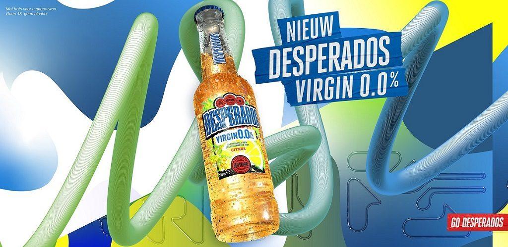 Desperados Virgin 0.0 om je Dry January succesvol af te ronden