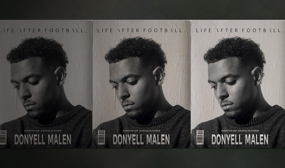 Donyell Malen is de coverster van Life After Football #69