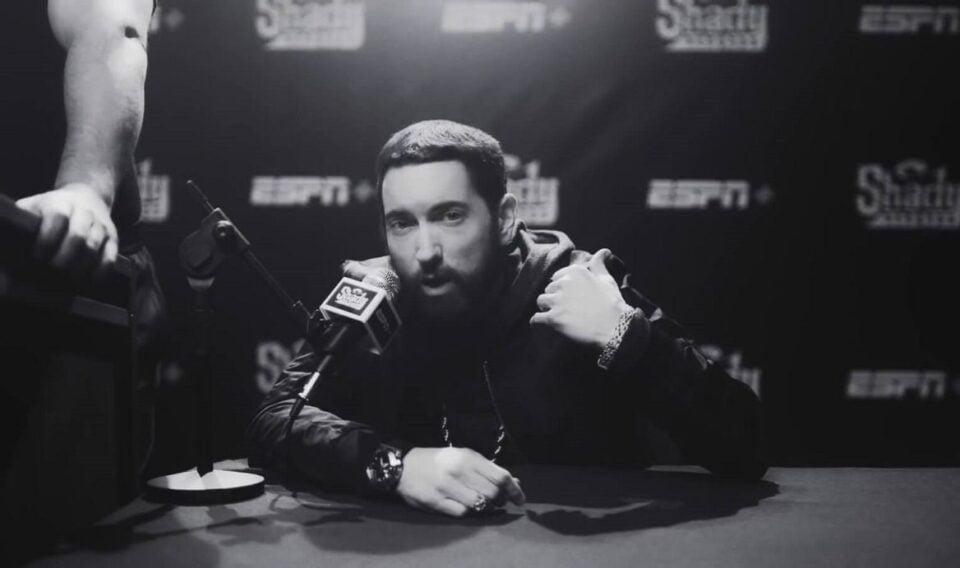 Eminem met de Casio G-SHOCK in zijn nieuwste single Higher