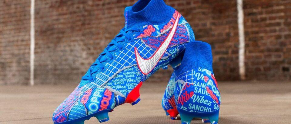 Jadon Sancho krijgt zijn eigen ontworpen Nike schoen