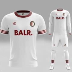 Feyenoord concept voetbalshirts