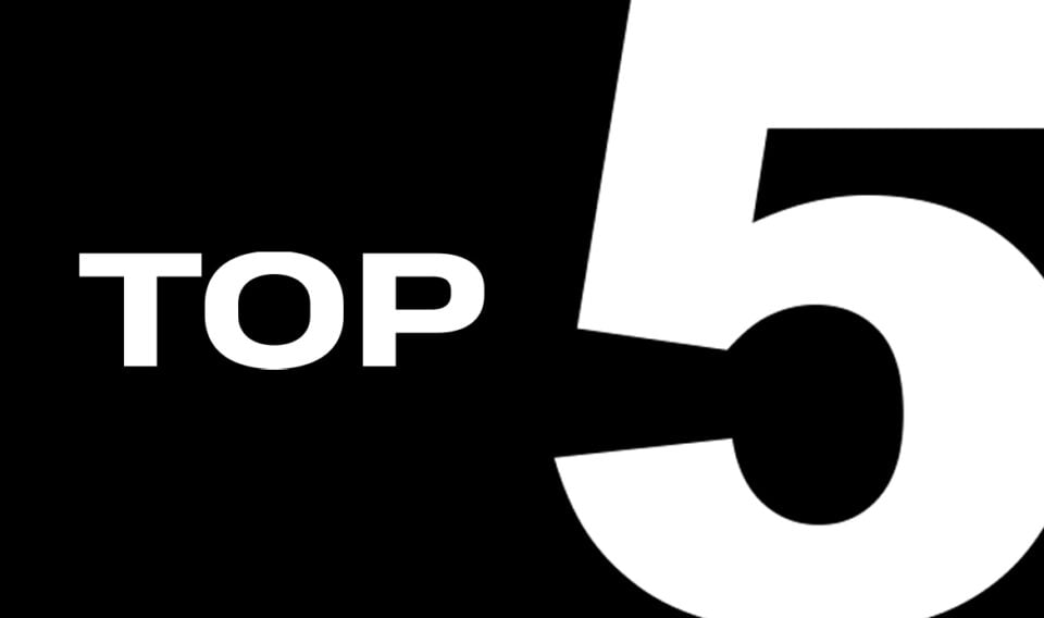 Top 5: Champagne x voetballers