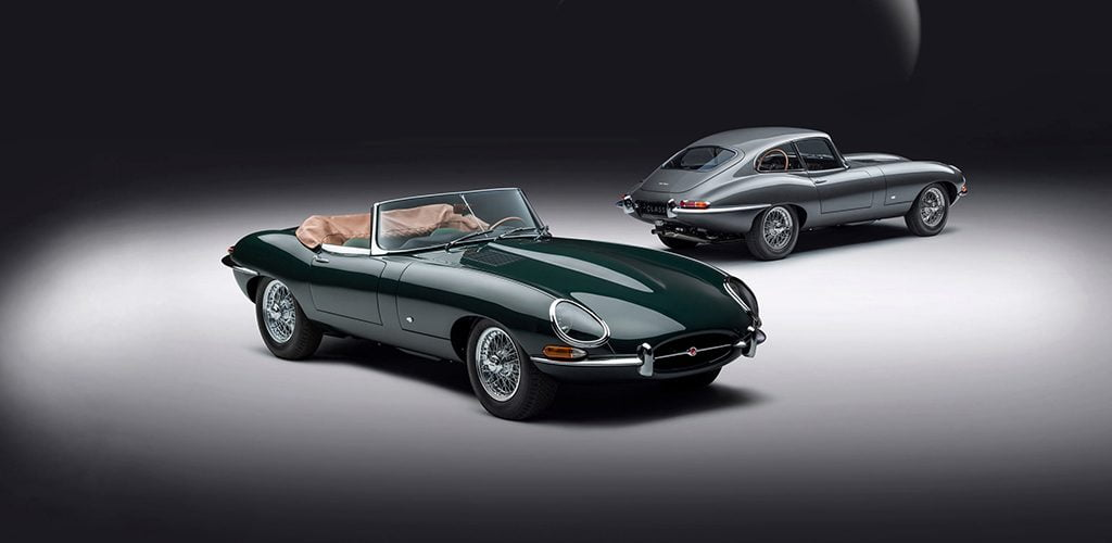 Jaguar E-Type 60 jaar