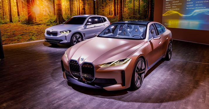 Lancering nieuwste concept cars BMW
