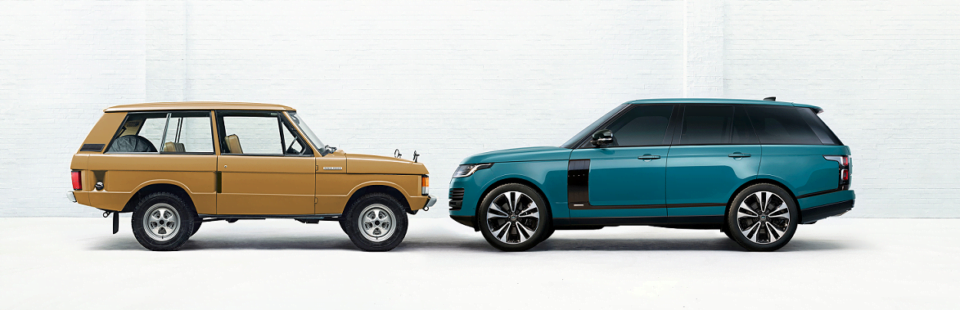 Land Rover viert de 50ste verjaardag van de Range Rover