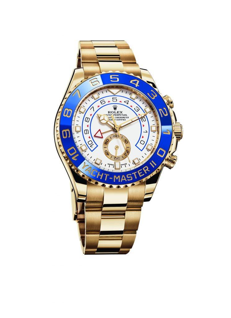 Horloges voor op je Kerstlijstje - Oyster Perpetual Yacht-Master II