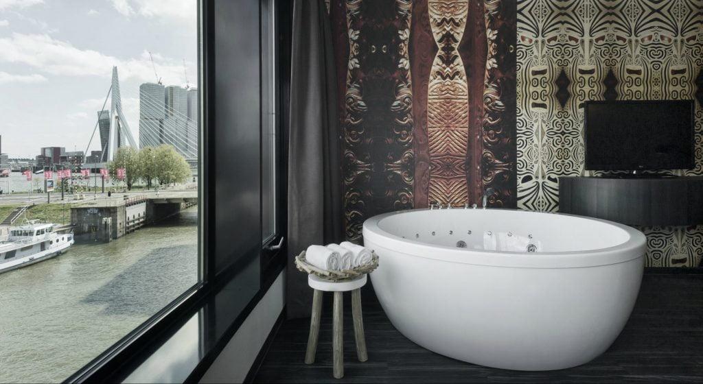 Relax in het fantastische Mainport Design Hotel in Rotterdam
