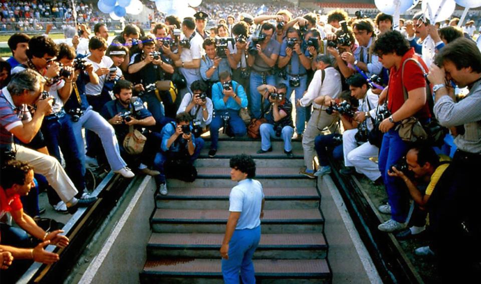 Documentaire Diego Maradona