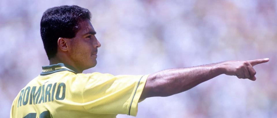 Romario staat met zijn groot aantal doelpunten natuurlijk in De 11