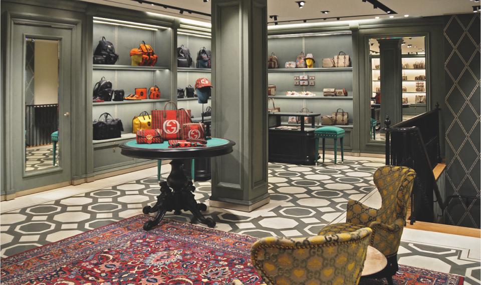 Nieuwe Gucci-store Amsterdam