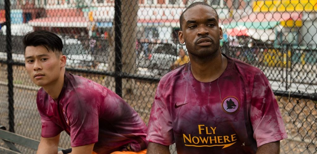 Nowhere FC streetwear-collectie met AS Roma