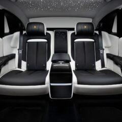 De verstelbare Serenity Seats voor meer comfort op de achterbank