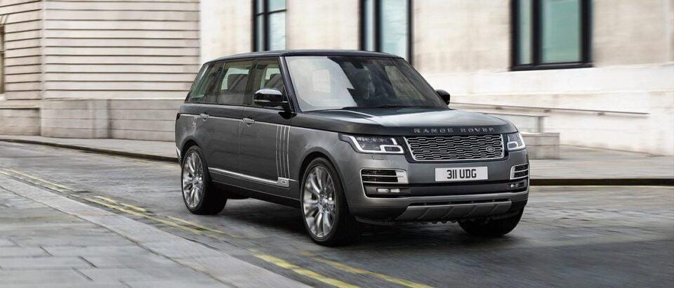 De meest luxe versie onder de Land Rovers