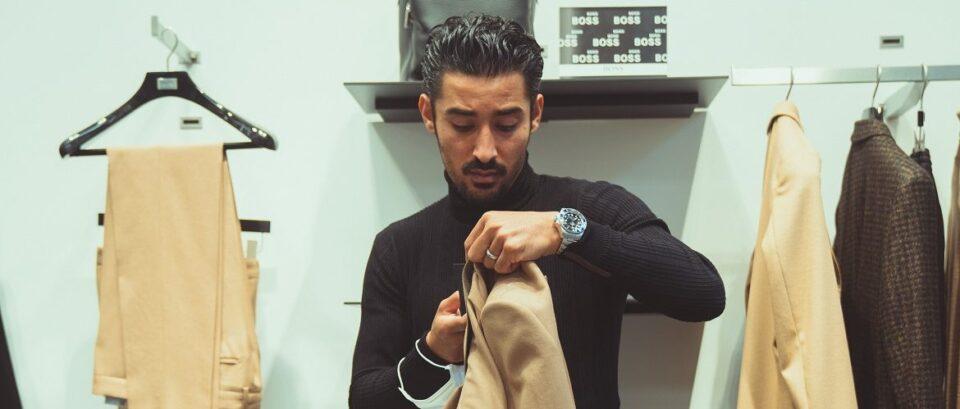 Volg Reza zijn stijl en shop tijdens Black Friday bij BOSS
