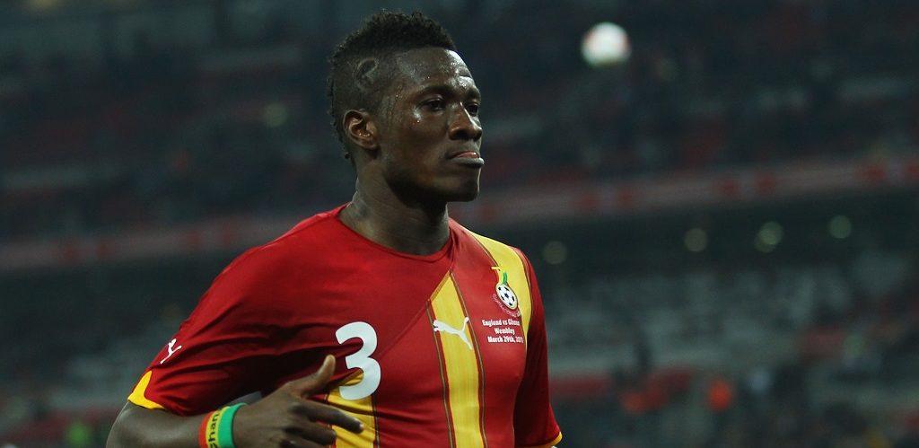 Rugnummer 3: Asamoah Gyan