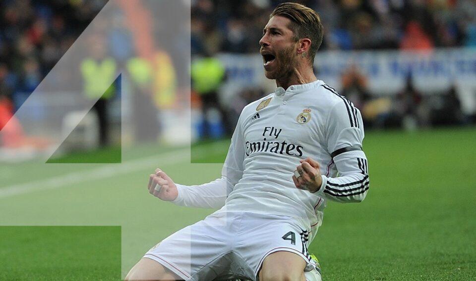 Rugnummer 4: Sergio Ramos