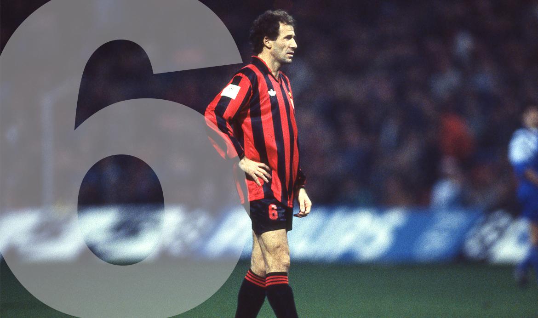 Rugnummer 6: Franco Baresi
