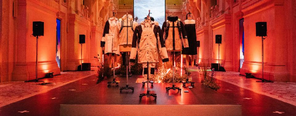 The North Face presentatie tijdens Paris Fashion Week