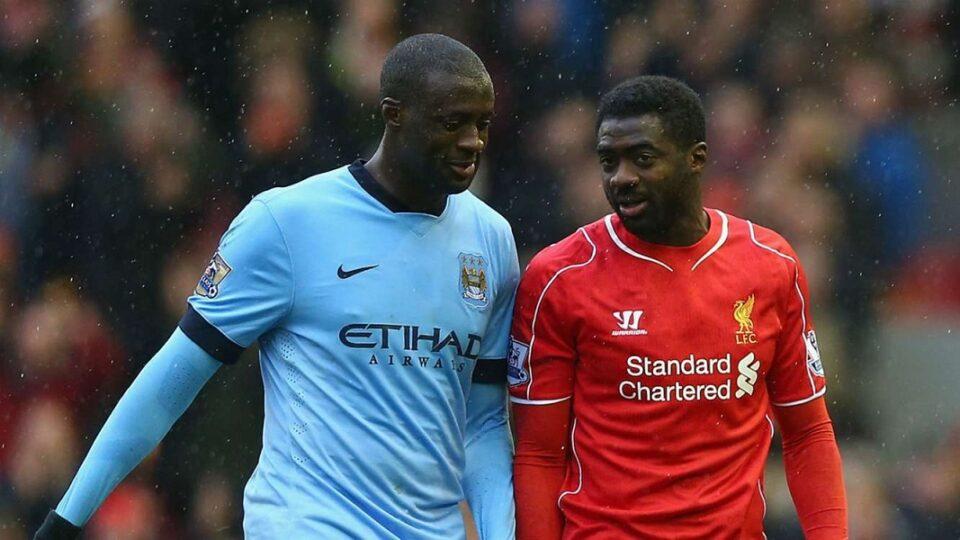 Voetbalbroertjes Yaya Touré en Kolo Touré