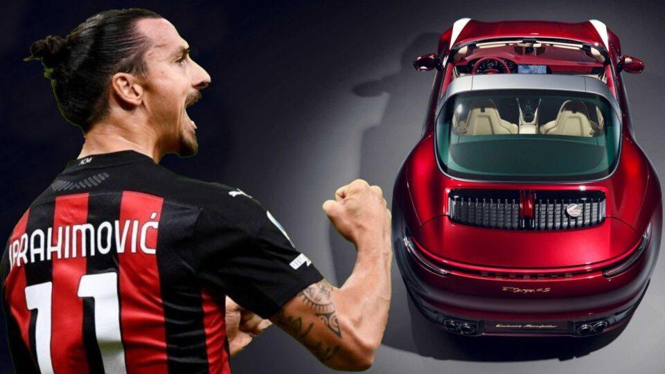 Zlatan heeft zichzelf een gloednieuwe Porsche 911 cadeau gedaan