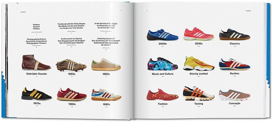 Sneakerfans kunnen hun hart ophalen met Adidas-boek