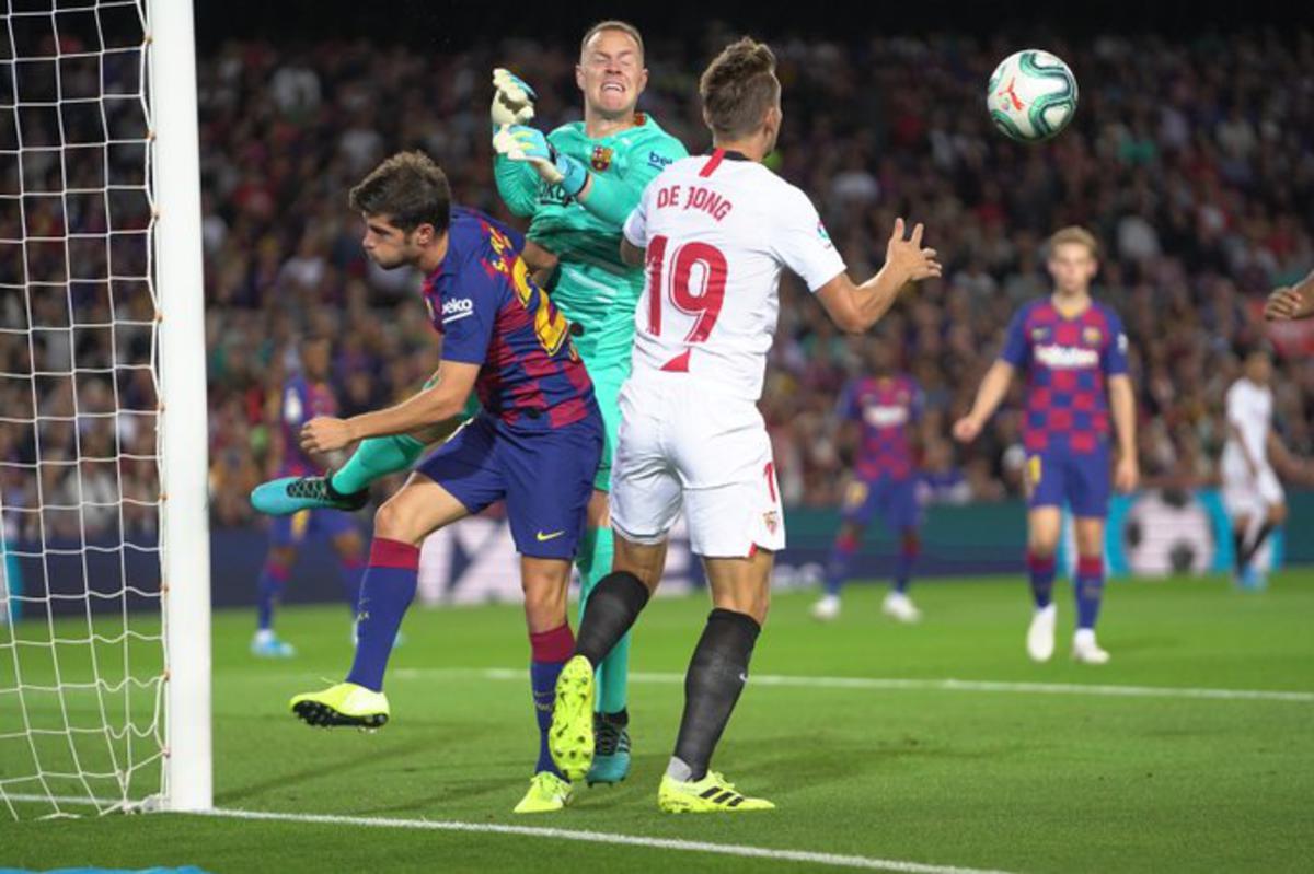 Tijdens de Game to Watch zal Luuk de Jong weer opduiken voor het doel van Barcelona