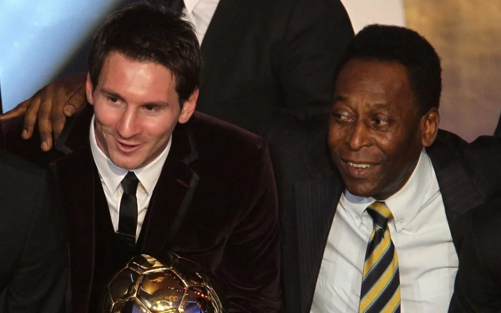 Messi neemt het doelpuntenrecord voor één club over van Pelé