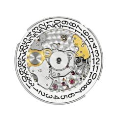 Een fantastische afwerking en een centrale rotor van 21K goud
