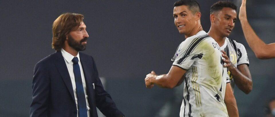 Style icon - Andrea Pirlo wint bij zijn debuut voor Juventus door onder andere een treffer van Ronaldo