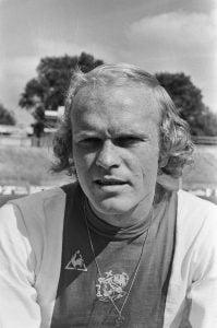 Ruud Geels bij Ajax 4x topscorer van de Eredivisie