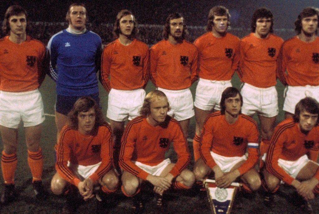 Ruud Geels kreeg rugnummer 1 voor het WK 1974
