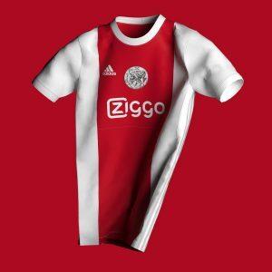 Het uitgelekte Ajax-shirt