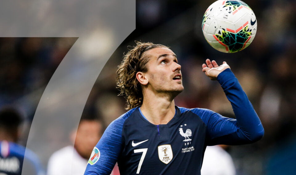 Rugnummer 7: Beckham x Griezmann