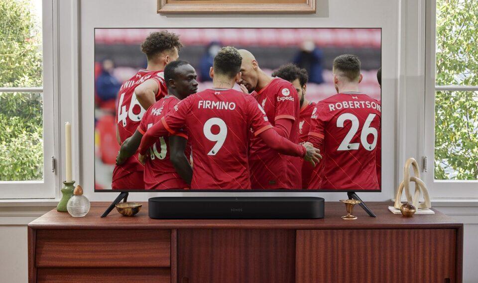 Liverpool en Sonos beginnen samenwerking