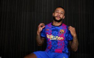Champions League shirt FC Barcelona