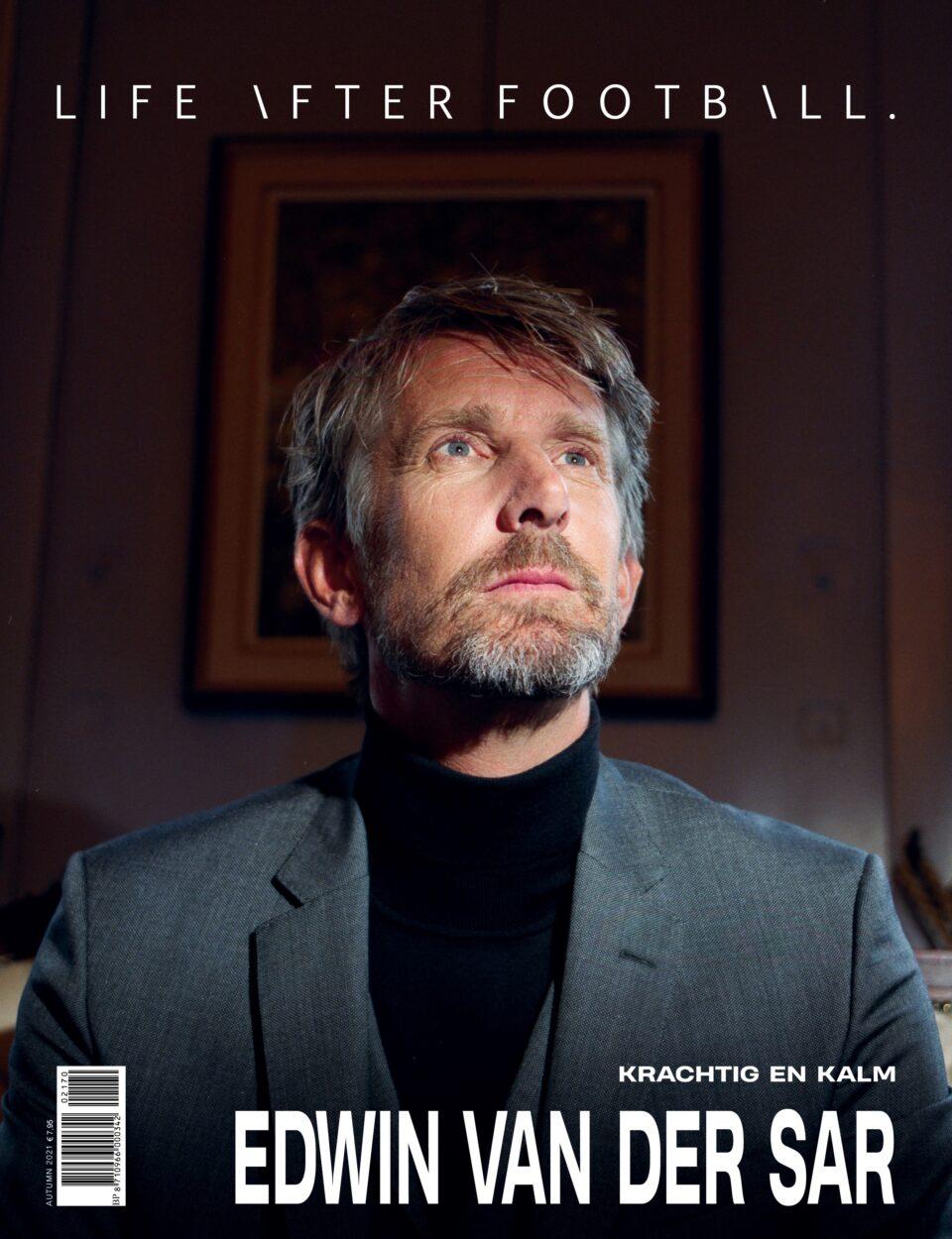 ISSUE 70 is nu verkrijgbaar met Edwin van der Sar als coverster