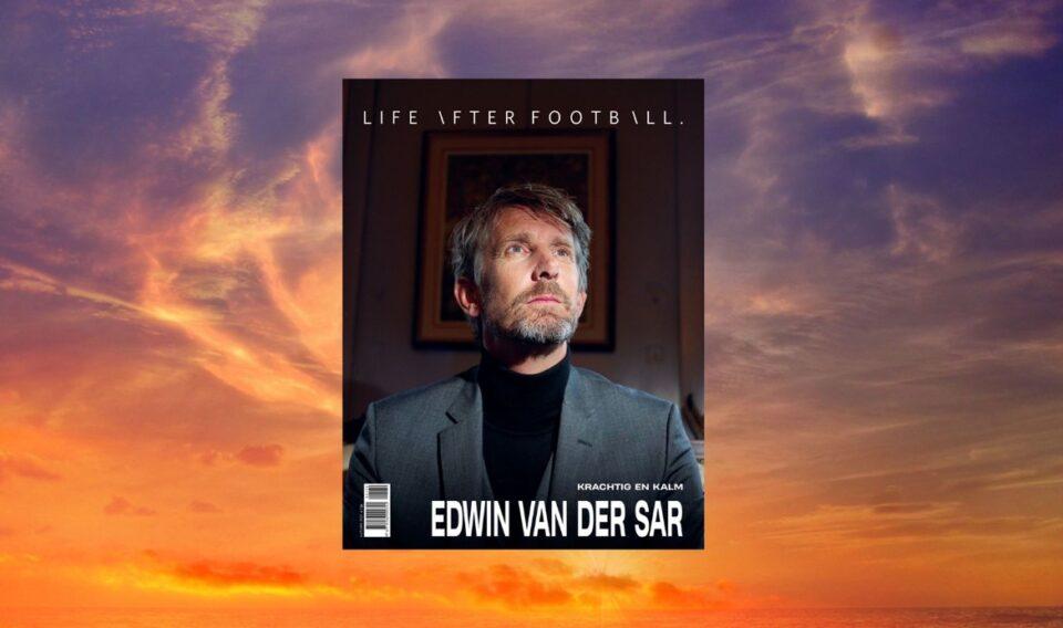 Edwin van der Sar is de coverheld van Life After Football #70