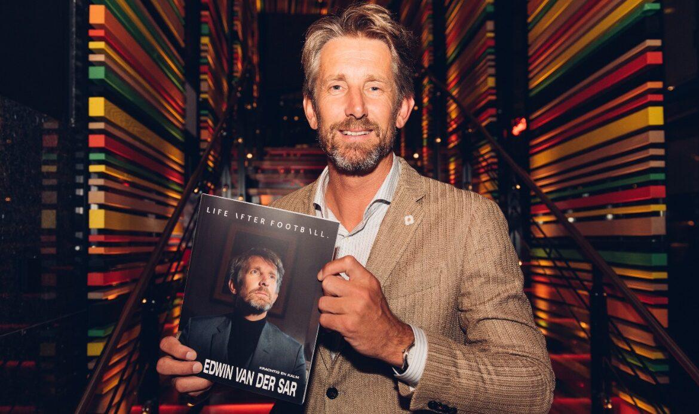 Edwin van der Sar met zijn cover