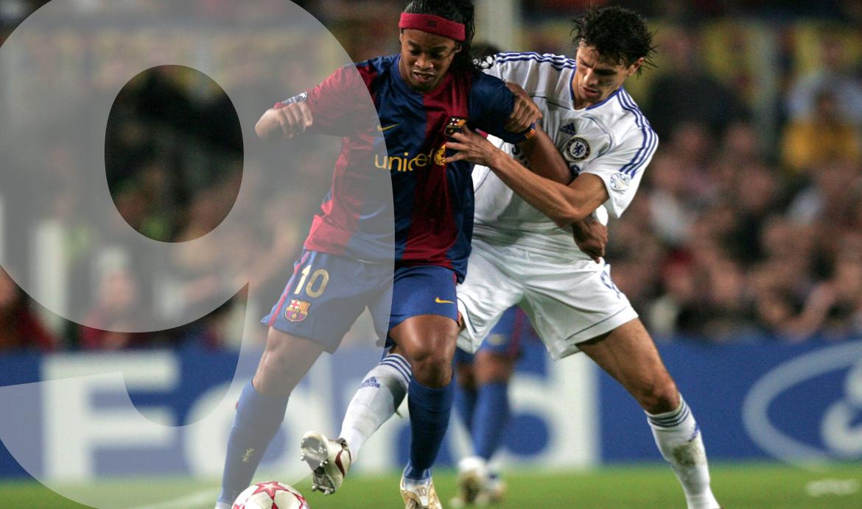 Khalid Boulahrouz Chelsea VS Ronaldinho
