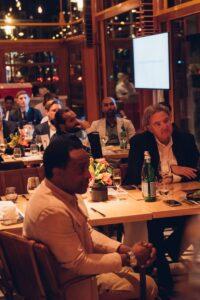 In het Holland Casino waren verschillende partners, prominenten en oud-voetballers aanwezig